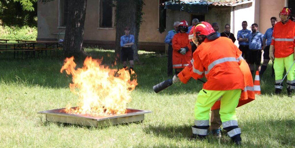 scout e incendi Venezia