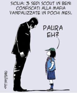 scout vignetta mauro biani