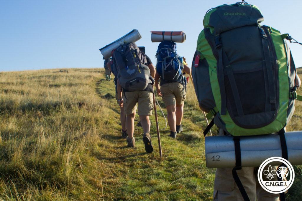 zaino da trekking scout